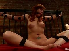 Bondage and Domination for Redhead Brooklyn Lee in Lesbian Video tube porn video