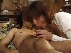 Mom, French, Hairy, Horny, Mom, French Mature