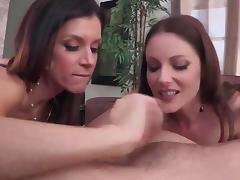 Samantha Ryan and India Summer ffm fun tube porn video