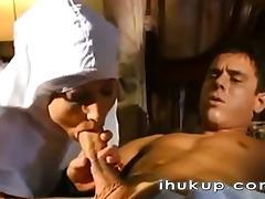 Italian Nun - ihukup-com tube porn video