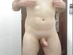 Jerking off tube porn video