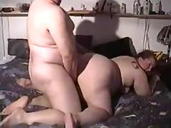 BHM fucks a BBW doggystyle