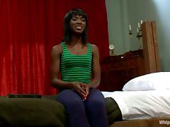 Kinkiest Nun Ties and Strapon Fucks Ebony Girl in Lesbian Domination Vid