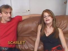 Ugly Redhead banged hard in Ass tube porn video