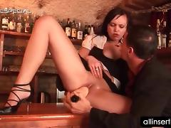 Bar, Amateur, Bar, Couple, Dildo, Hardcore