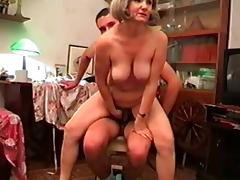 Mom and Boy, Mature, Russian, Old and Young, Mom and Boy, Mature and Teen