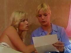 Vintage French Lesbians tube porn video