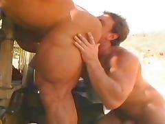 Tom Katt and another muscle guy porn tube video