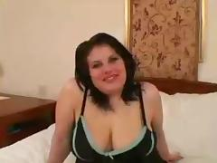 Chubby, BBW, Brunette, Chubby, Threesome, 3some