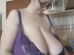 the romanian large delightful woman-domina - alicia in kitchen tube porn video