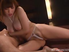 Dirty games with a desirable Japanese slut Honami