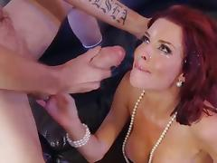 Veronica Avluv gets huge facial blast from monster cock tube porn video