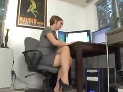 Office, Blowjob, Boss, Cougar, MILF, Office