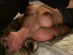 Throat Fucking Phoenix Marie as She's Tied and Toyed