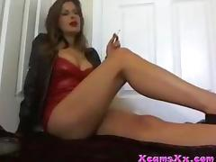 Milf smoking tells you how it is