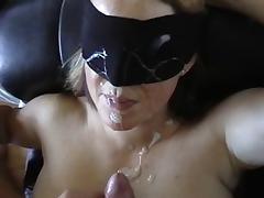 Blindfolded, Amateur, Blindfolded, Facial, Wife
