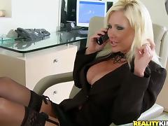 Bra, Big Tits, Blonde, Boss, Bra, Couple