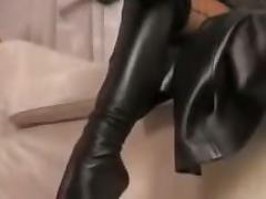 Boots, Boots, Femdom, POV, Softcore