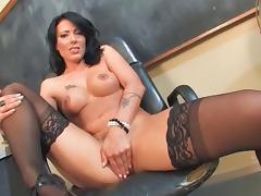 4 hot women playing with themselves