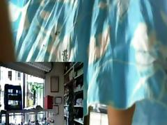 webcam girl at work