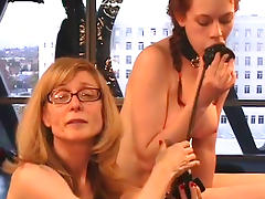 Two spicy bitches are playing with toys tube porn video
