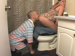 LICKING HER ASS CLEAN