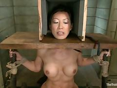 Tia Ling gets clothespinned and then fucked hard