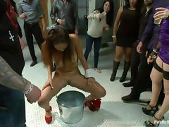 public bathroom party tube porn video
