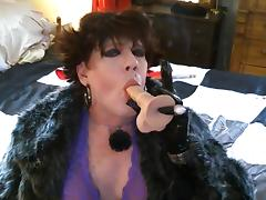 Smoking My Dildo porn tube video