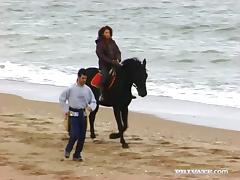 Horse Ride on the Beach Ends with Hardcore Fucking Outdoors tube porn video