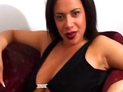 Cum Brushing, Big Tits, Boobs, British, Cum, Interracial