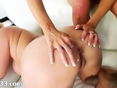 shocking anus licking and interracial tube porn video