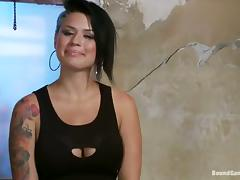 Busty Eva Angelina blows dicks and gets fucked rough porn tube video