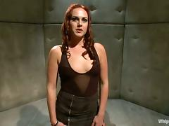 Lesbian BDSM Threesome with Strapon and Anal Toying