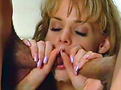 Such cute babe was fucked in retro scene