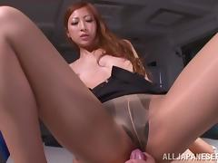 Reira Aisaki gets her pussy licked before giving a blowjob tube porn video