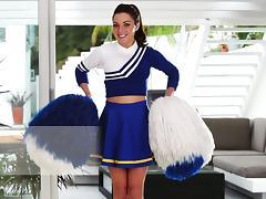 Cheerleader, Beauty, Cheerleader, Costume, Curvy, Panties