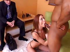 Riley Shy cuckolds her husband tube porn video