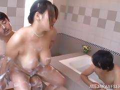 Bitch, Asian, Bath, BBW, Big Tits, Bitch