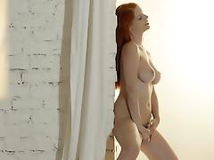 All, Big Tits, Boobs, Masturbation, Redhead, Strip