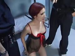 Loud mouth prisoner tube porn video