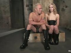 Sarah Jane Ceylon Having Fun with a Strapped Guy's Cock and Ass tube porn video