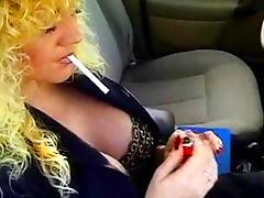 Car, Blonde, Car, Fetish, Mature, MILF