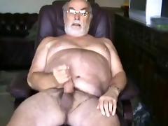 UNCUT BRITISH GRAMPA porn tube video