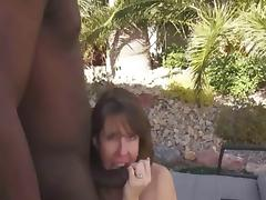 Public fucking with creampie