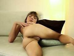 seductive blond with hungry fingers