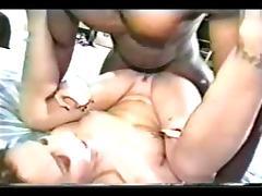 Young slut takes black cock