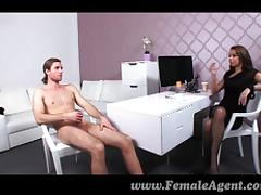 Audition, Amateur, Audition, Boobs, Boots, Brunette