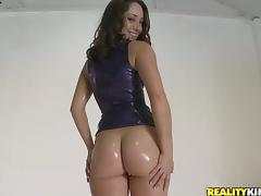 When Remy La Croix starts oiling herself up, she means anal