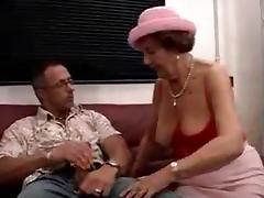 German Granny Martha Fucking